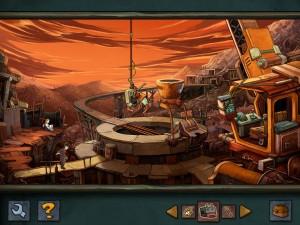 Deponia – iPad-Version (Bildrechte: Daedalic Entertainment)