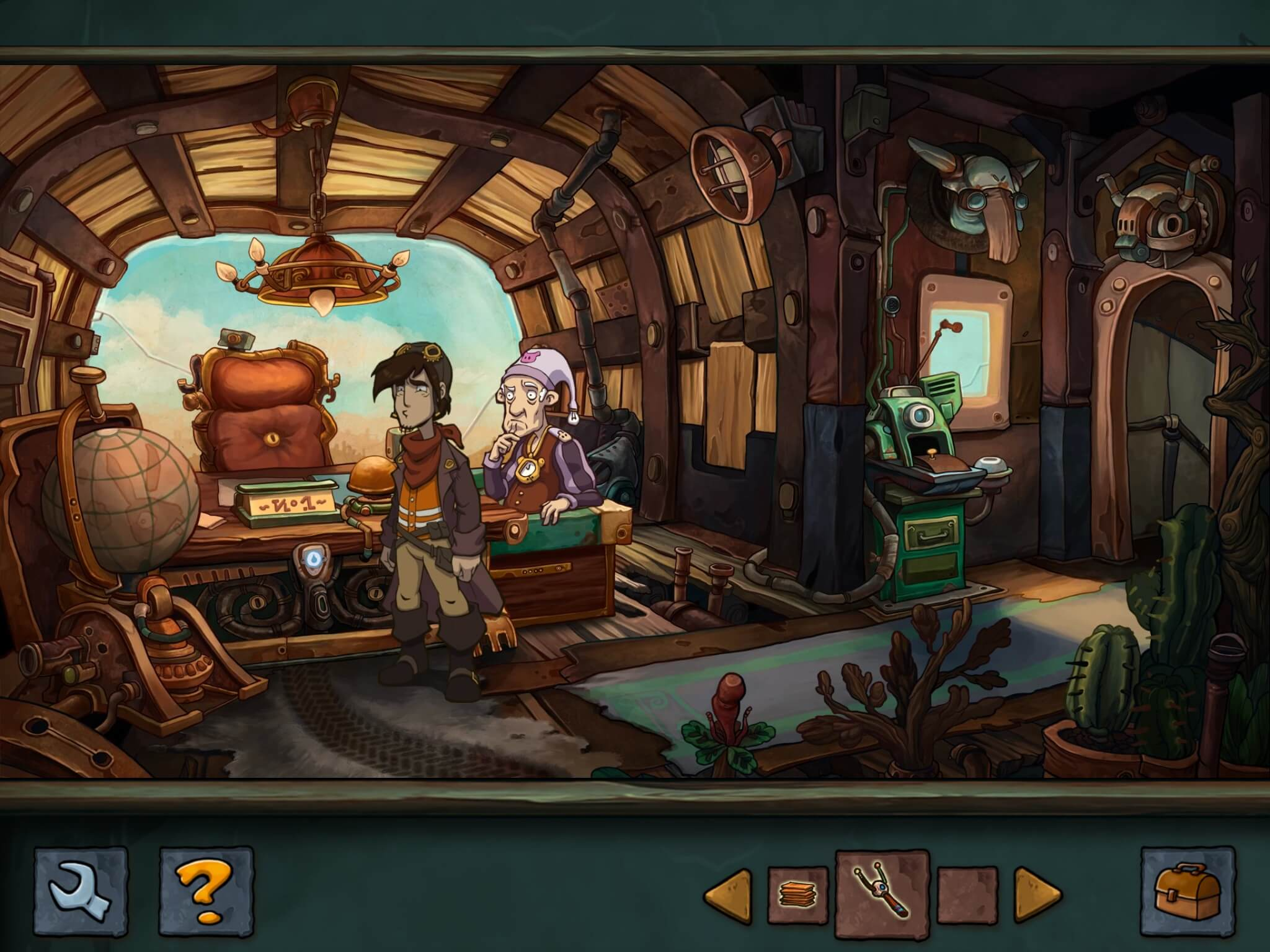 Deponia – iPad-Version (Bildrechte: Daedalic Entertainment)