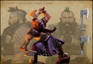 Die Zwerge – Artwork: Boïndil (Bildrechte: King Art Games)