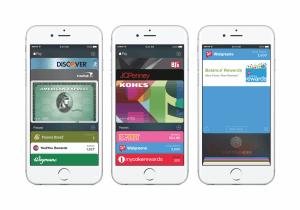 Wallet unter iOS 9 auf dem iPhone 6s (Bildrechte: Apple)