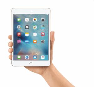 iPad mini 4 mit iOS 9 (Bildrechte: Apple)