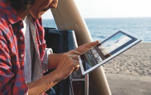 iPad Pro im Einsatz (Bildrechte: Apple)