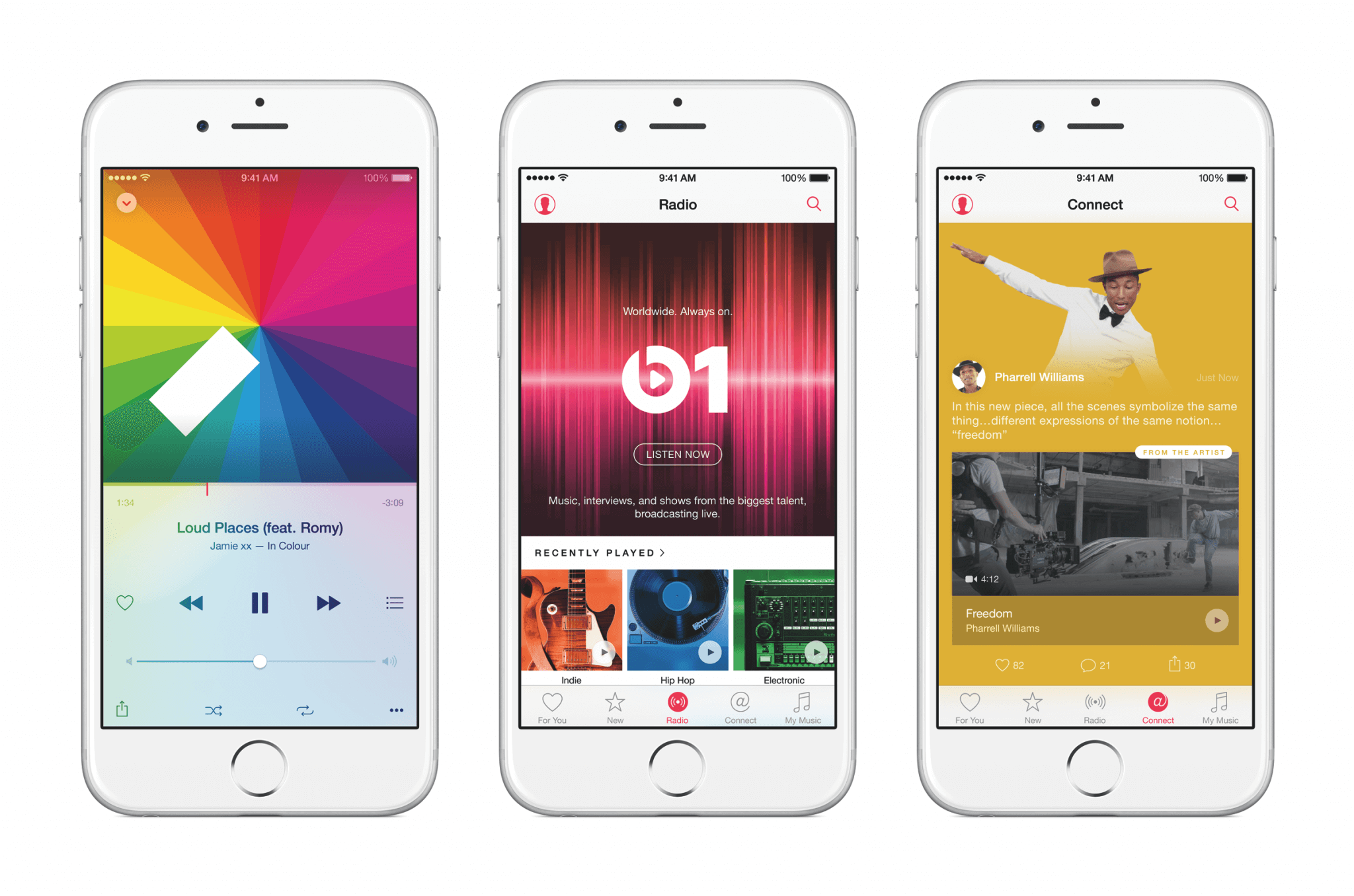 Apple Music auf dem iPhone (Bildrechte: Apple)