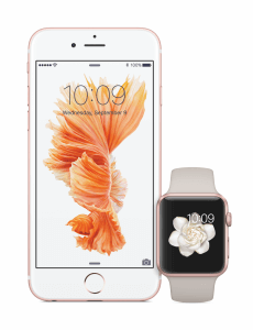 iPhone 6s und Apple Watch in Roségold (Bildrechte: Apple)