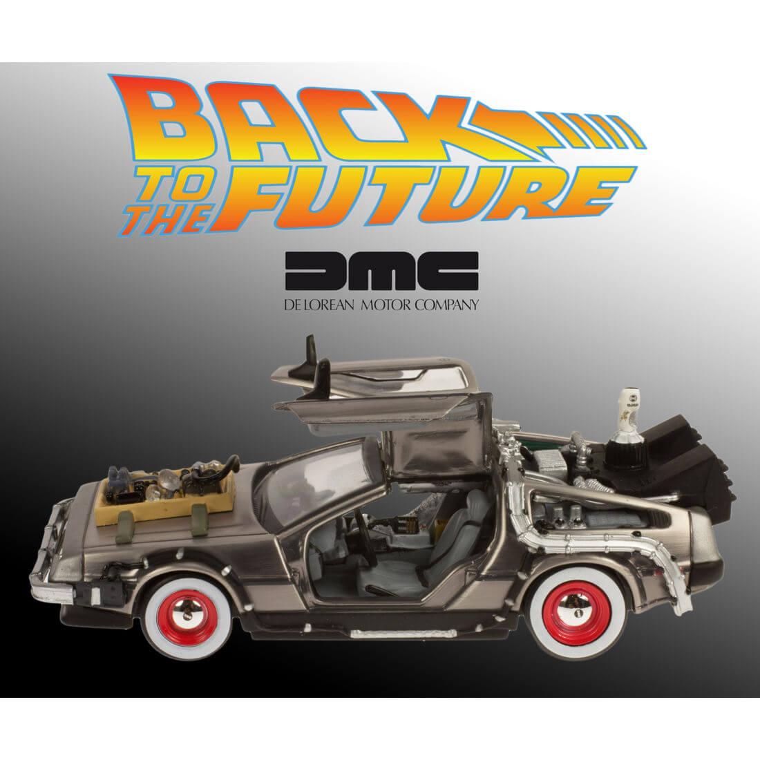 Das Modell des DeLorean (Bildrechte: getdigital.de)