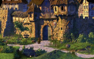 Vor den Toren Seefels' (The Book of Unwritten Tales)