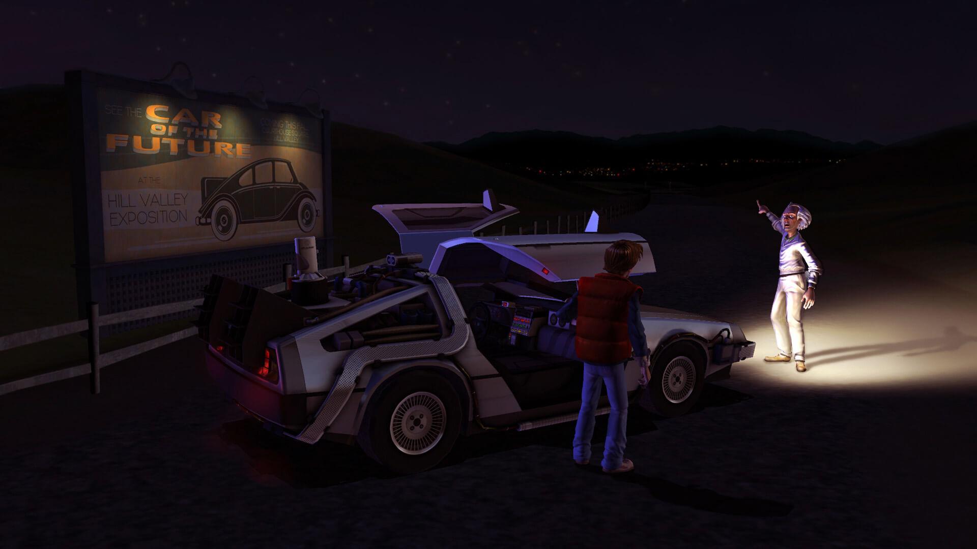 Zurück in die Zukunft – Das Spiel (Bildrechte: Telltale Games)