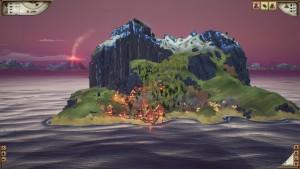 Valhalla Hills: Die gefallenen Wikinger besiedeln viele Inseln im eisigen Meer (Bildrechte: Daedalic Entertainment)