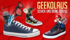 Geekolaus: Versender getDigital füllt Schuhe mit coolem Spielzeug (Bildrechte: getDigital)