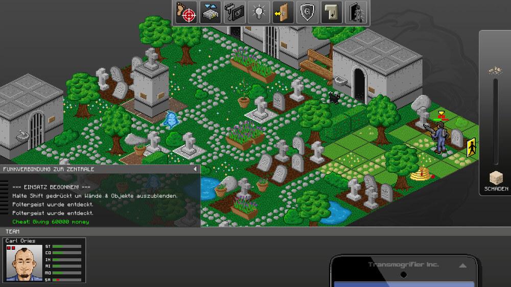 GhostControl Inc.: Einsatz auf dem Friedhof (Bildrechte: Application Systems Heidelberg)