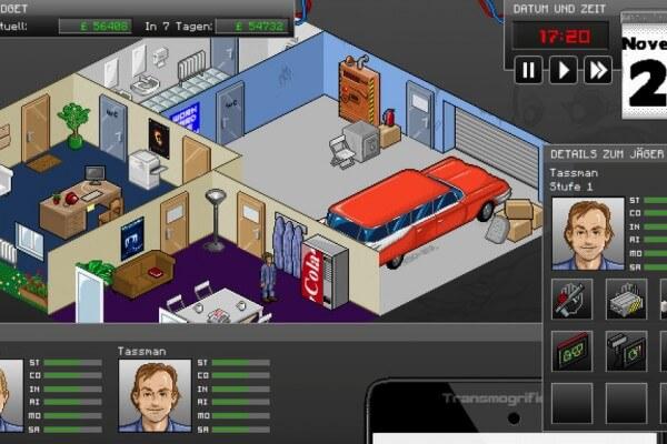 GhostControl Inc.: Das Hauptquartier der Geisterjäger (Bildrechte: Application Systems Heidelberg)
