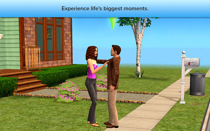 Die Sims 2: Lebensgeschichten: Es gibt große Momente zu durchleben (Bildrechte: Aspyr Media)