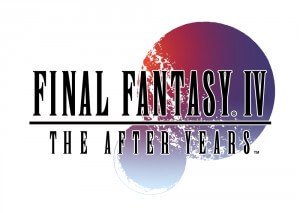 Logo zu Final Fantasy IV: The After Years (Bildrechte: Square Enix)