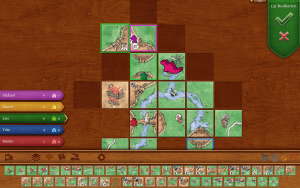 Carcassonne (Mac): Mehrspieler-Partie (Bildrechte: Coding Monkeys)