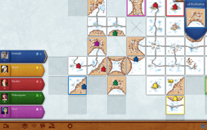 Carcassonne (Mac): Der Winter kommt (Bildrechte: Coding Monkeys)