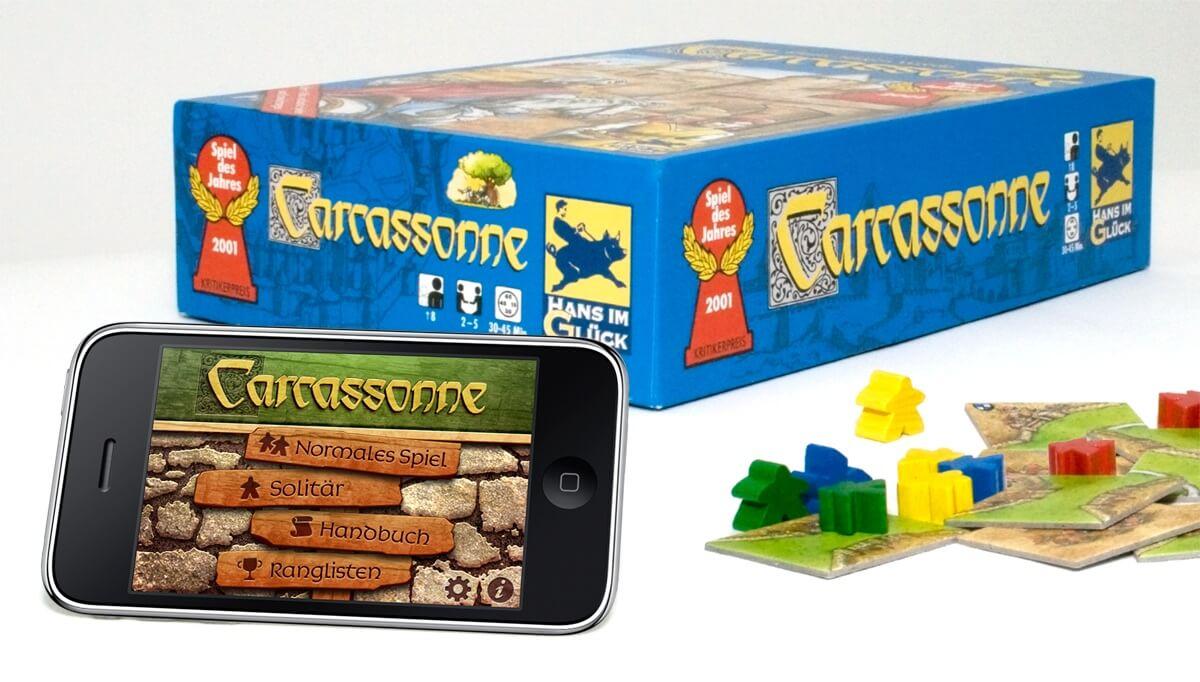 Die iPhone-Umsetzung des beliebten Legespiels Carcassonne ist bereits sehr erfolgreich (Bildrechte: Coding Monkeys)