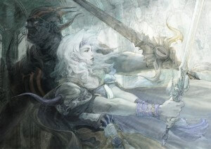 Artwork: Final Fantasy IV (Bildrechte: Square Enix)