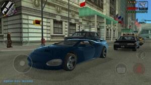 GTA Liberty City Stories: Schnelle Karren helfen bei der Flucht (Bildrechte: Rockstar Games)