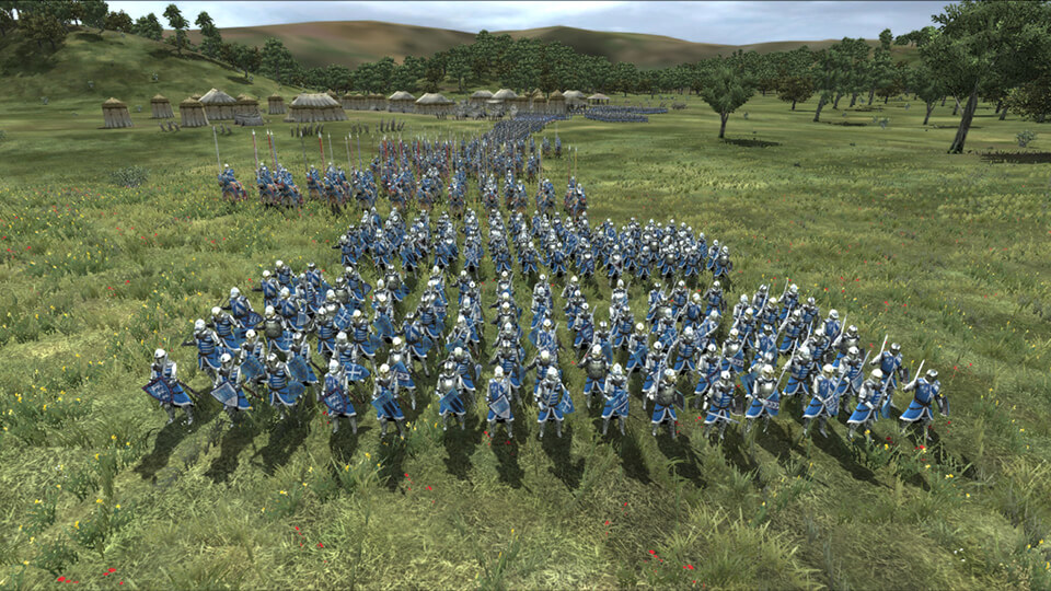 Erschreckend aktuell: Französische Truppen ziehen in den Krieg. Bildrechte: Feral Interactive
