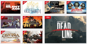 Indie-Angebote im Mac Game Store (Screenshot von www.macgamestore.com)