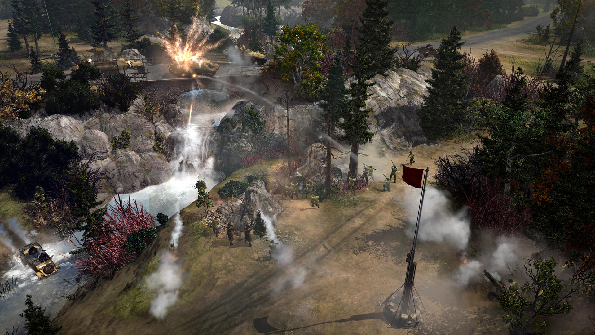 Company of Heroes 2 – The Western Front Armies (Bildrechte: Feral Interactive)