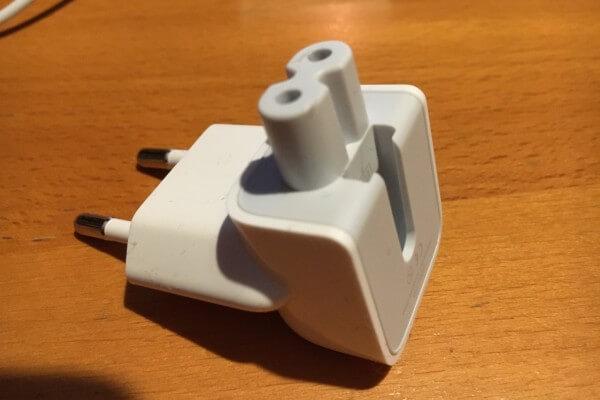 Netzteilstecker für Apple-Produkte
