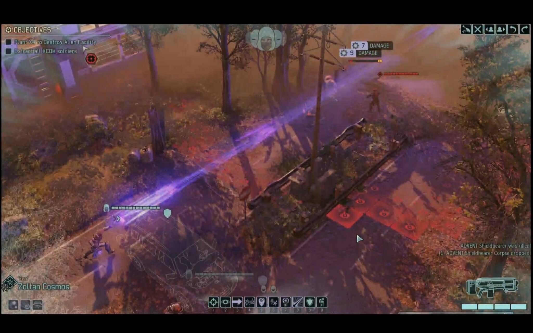 XCOM 2: Die Null Lance des PSI-Kämpfers schaltet Aliens aus, die aufgereiht stehen (Bildrechte: Firaxis)