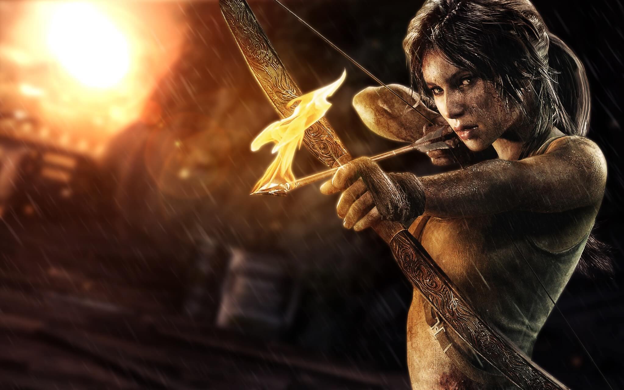 Beziehungsstatus unbekannt, aber im Mac App Store ist Lara Croft solo unterwegs: Der ausgezeichnete Tomb Raider-Reboot kommt ohne den Multiplayer der Steam-Version. (Bildrechte: Square Enix/Feral Interactive)
