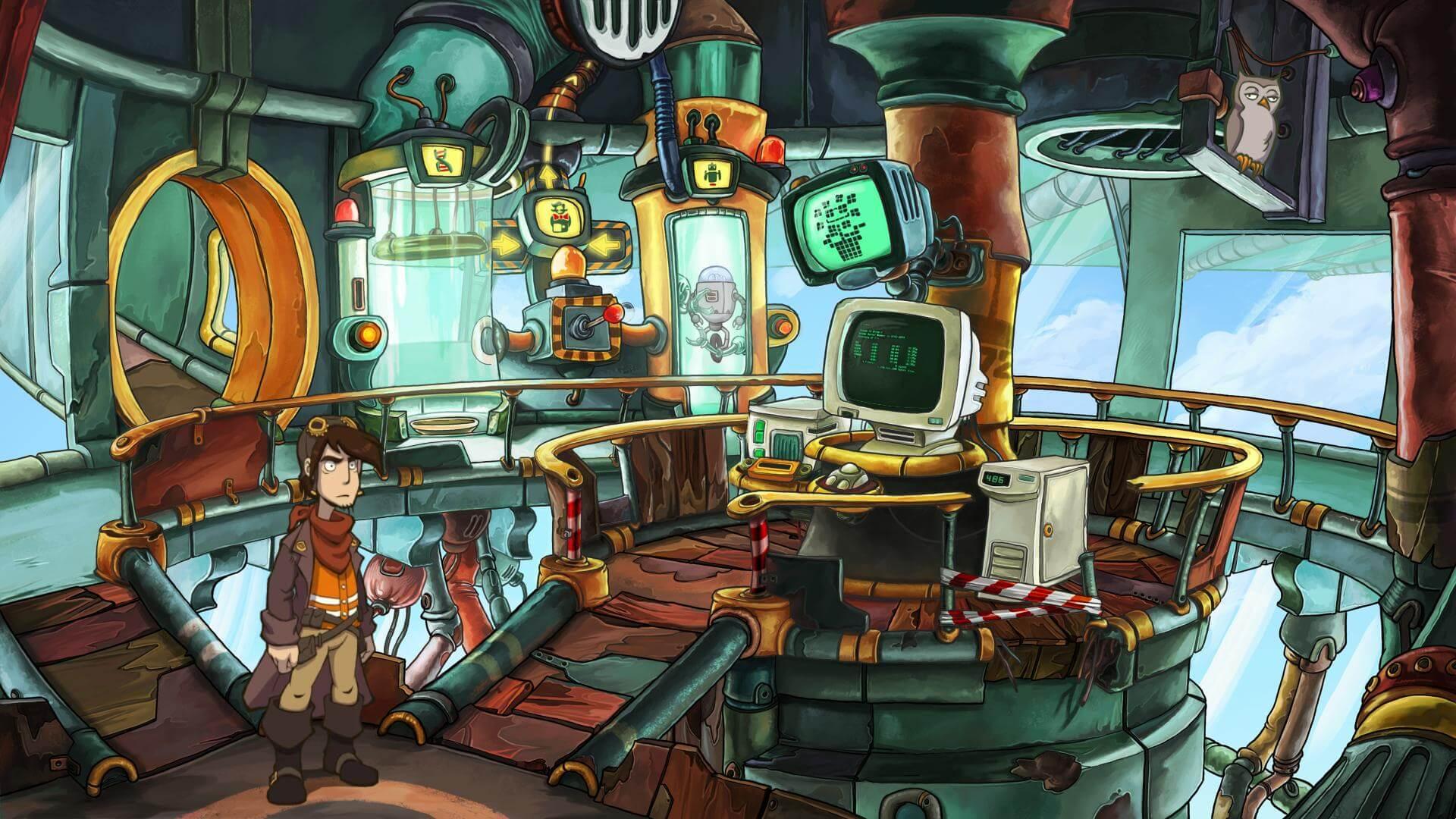 Deponia Doomsday: Rufus ist zurück (Bildrechte: Daedalic Entertainment)