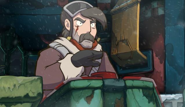 Deponia Doomsday: Nur noch den roten Knopf drücken und Bumm! (Bildrechte: Daedalic Entertainment)