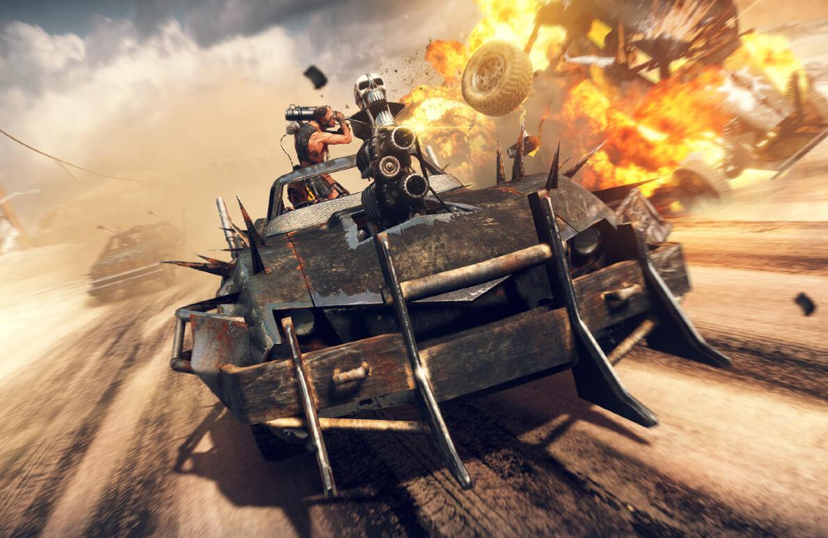 Fahrzeug-Aufrüstungen und -kampf sind ein Schwerpunkt bei Mad Max Bild: WB Games/ Avalanche Studios