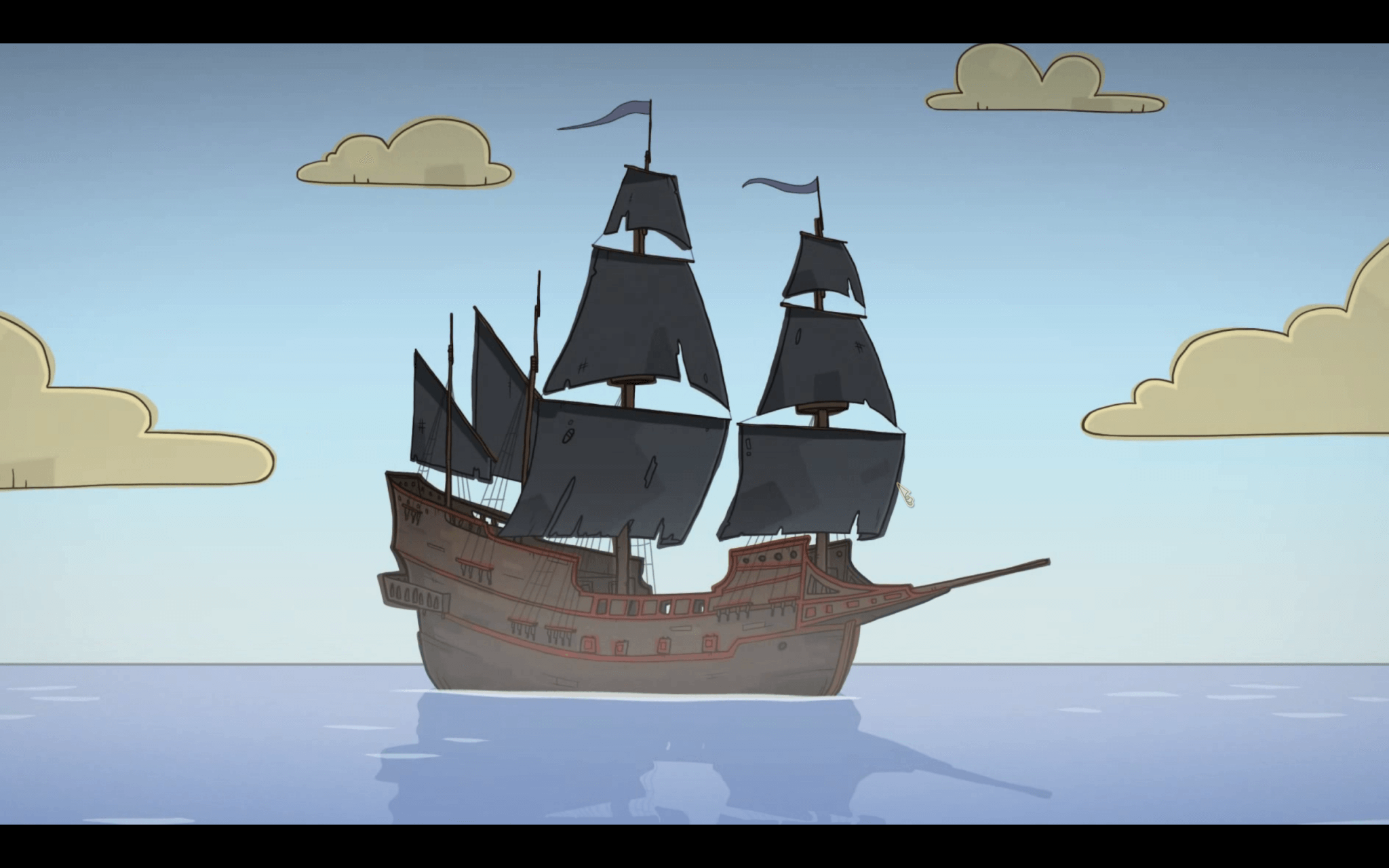 Nelly Cootalot: Schiffe gibt's auch