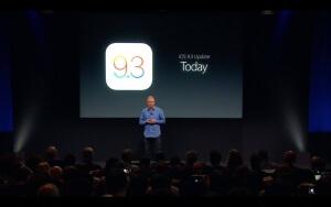 Seit wann gibt es iOS 9.3?