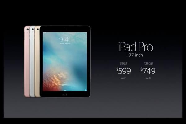 """Was kostet das iPad Pro 9,7""""?"""