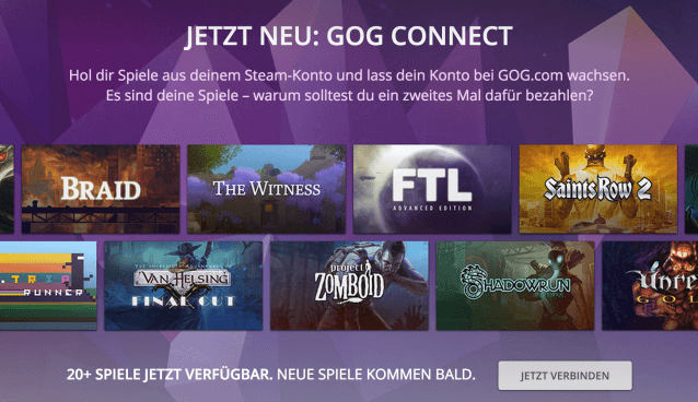 GOG Connect
