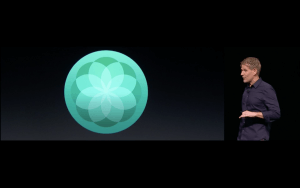 WWDC: Breathe – die neue Apple-Watch-App für Atemübungen (Screenshot von Apples Lifestream)