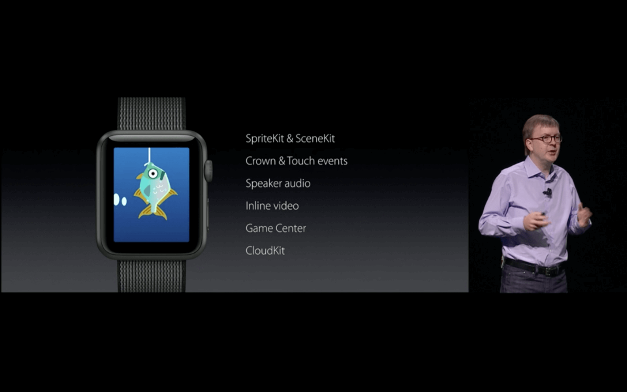 WWDC: Neue Möglichkeiten für Entwickler (Screenshot aus Apples Lifestream)