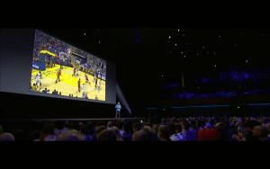 WWDC: NBA 2k kommt für s Apple TV (Screenshot von Apples Lifestream)