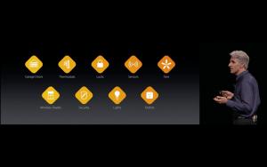 WWDC: HomeKit wird erweitert und kommt auch aufs Apple TV (Screenshot von Apples Livestream)