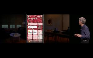 WWDC: Die Funktionen der neuen Home-App stehen auch im Control Center zur Verfügung (Screenshot von Apples Livestream)