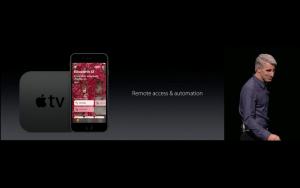 WWDC: Smart Home auf iPhone und Apple TV (Screenshot von Apples Livestream)