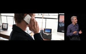 WWDC: Zusammen mit Cisco bringt Apple Telefonate vom Büroanschluss aufs iPhone (Screenshot von Apples Livestream)