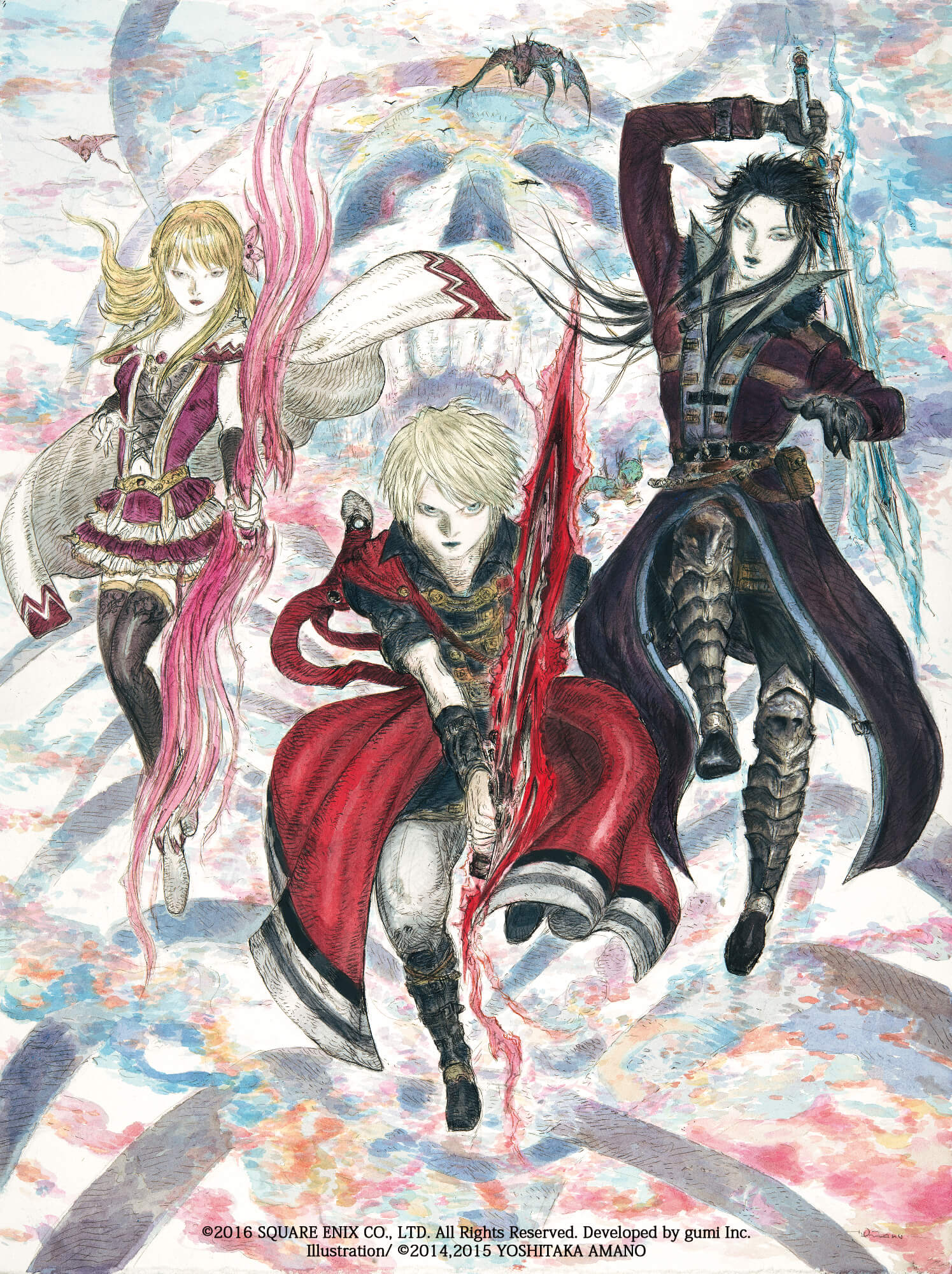 Artword zu Final Fantasy Brave Exvius (Bildrechte: Square Enix)