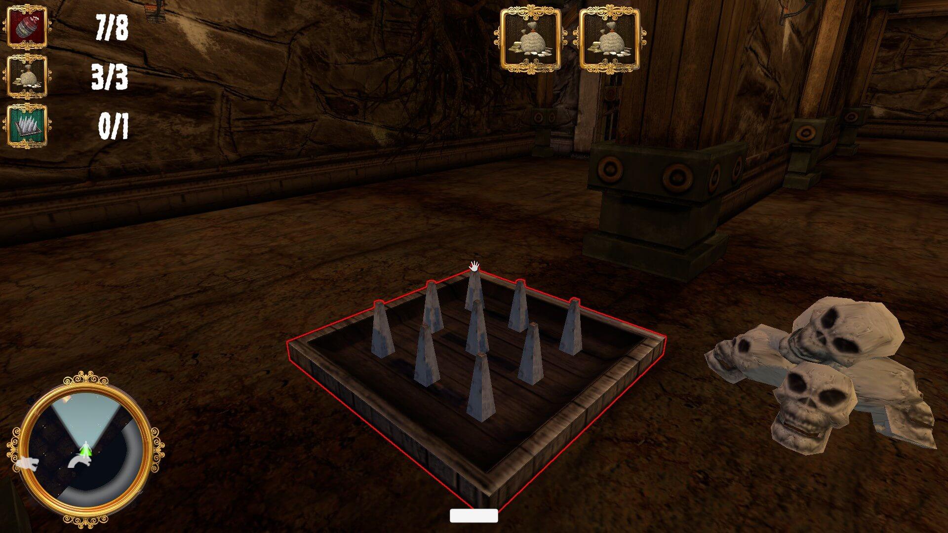 The Caretaker – Dungeon Nightshift: Vorsichtig die Falle scharf machen (Bildrechte: Bluebox Interactive)