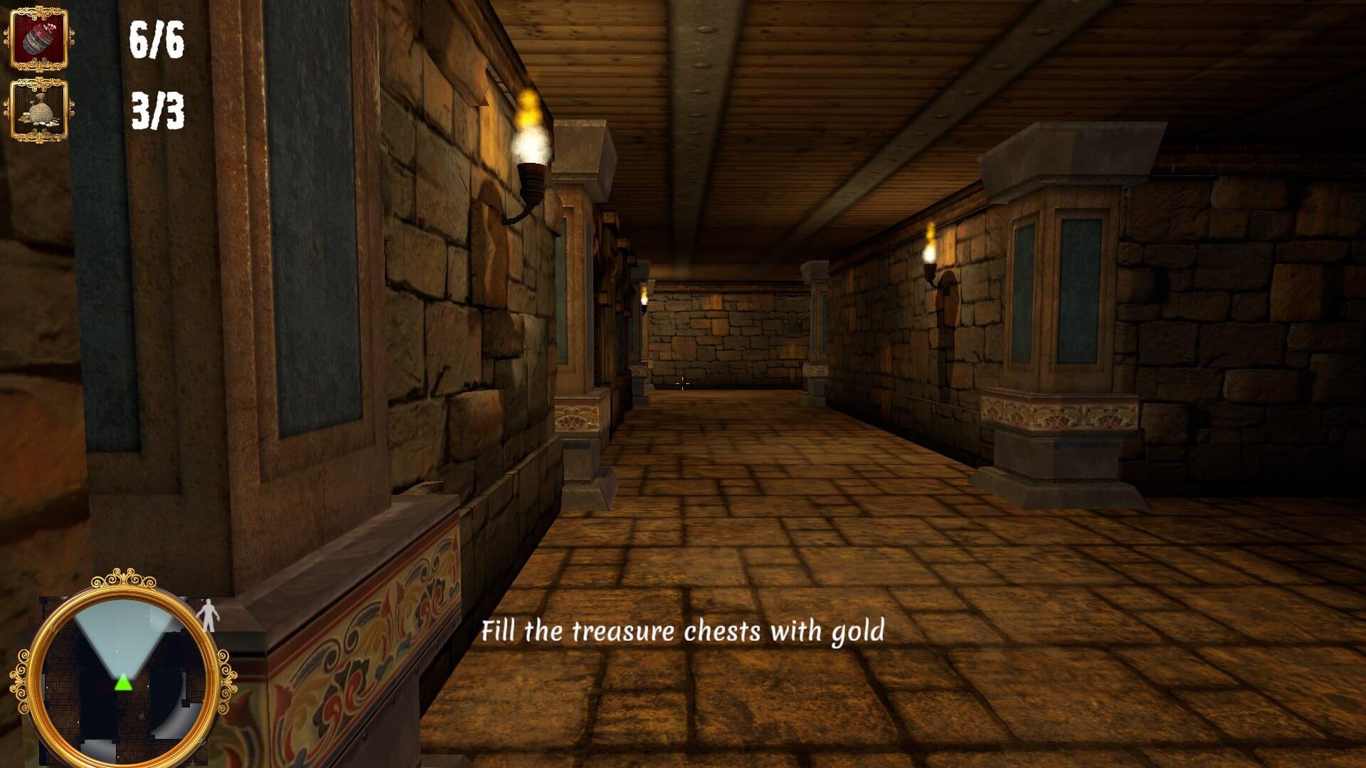 The Caretaker – Dungeon Nightshift: Lange Wege bei der Hausmeisterarbeit (Bildrechte: Bluebox Interactive)