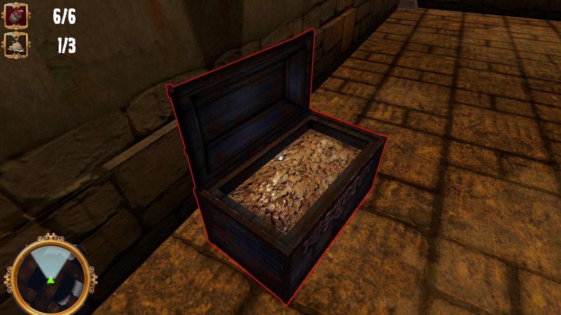 The Caretaker – Dungeon Nightshift: Schatztruhe bereit für die nächste Abenteurergruppe (Bildrecht: Bluebox Interactive)