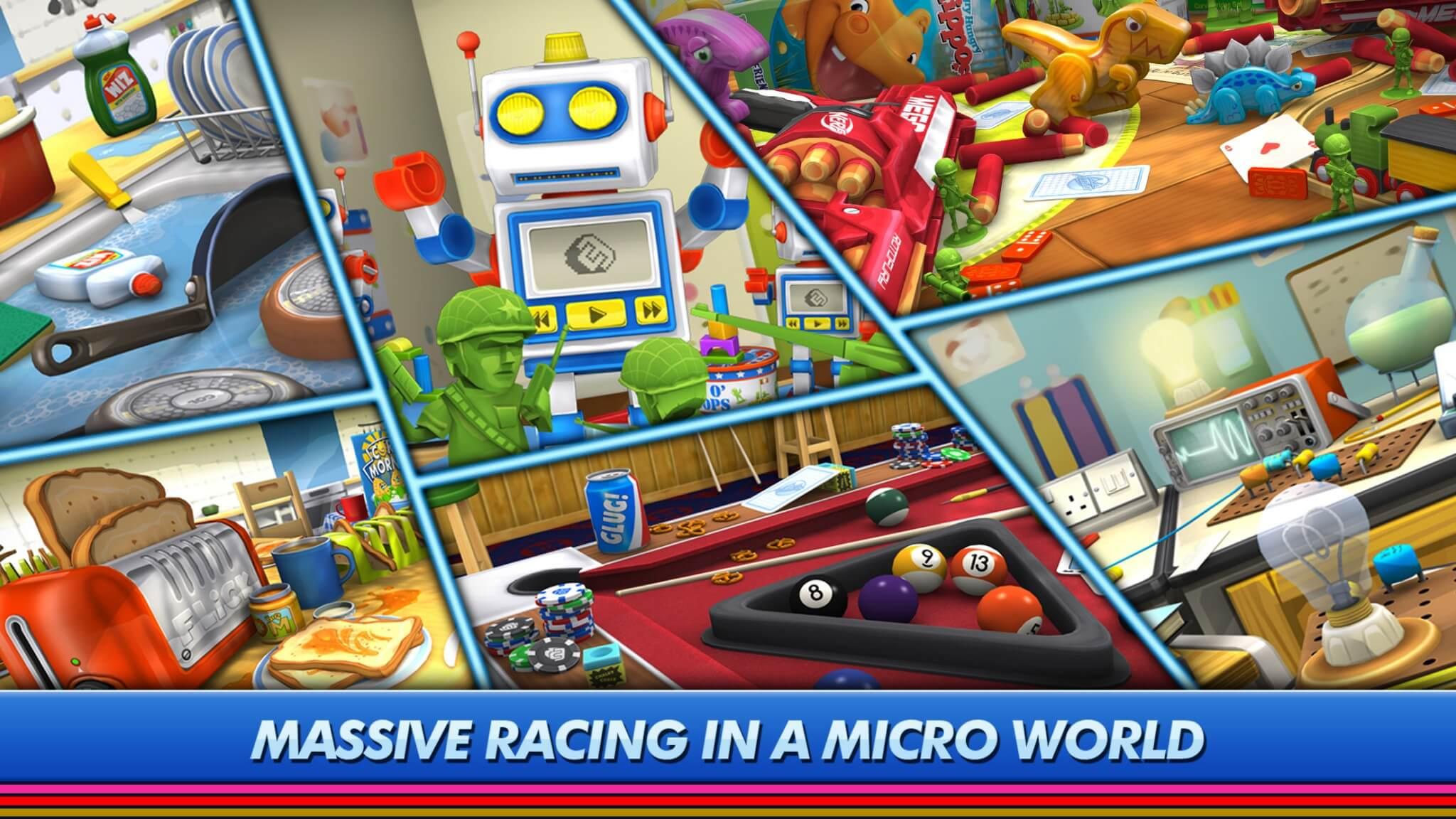 Micro Machines (Bildrechte: Chillingo)