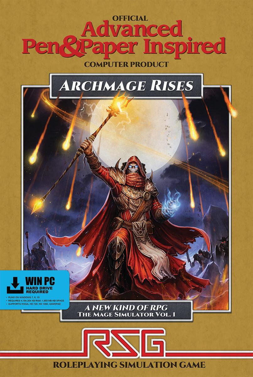Archmage Rises Box (Bildrechte bei Defiance Game Studio)