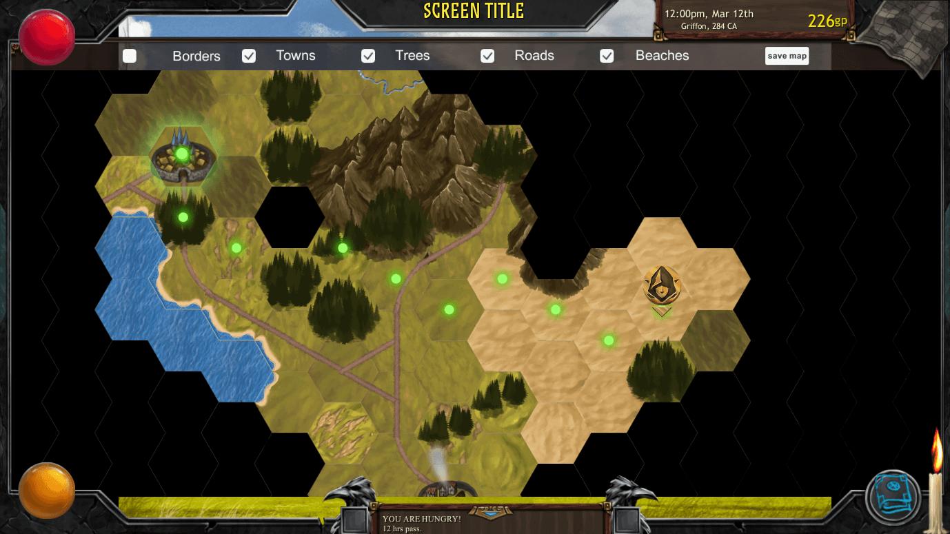 Archmage Rises Overworld (Bildrechte bei Defiance Game Studio)