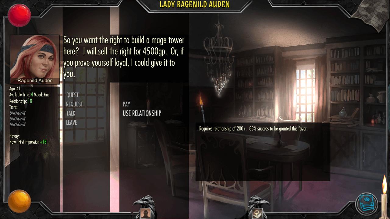 Archmage Rises quest (Bildrechte bei Defiance Game Studio)
